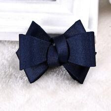 2pc x Fashion Women Square Rhinestone Crystal Color Ribbon Bow Shoe Clips Charms