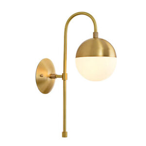 Indoor Wall Lamp Kitchen Gold