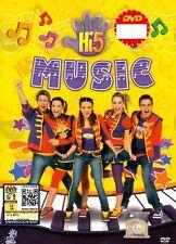 DVD Hi-5 : MUSIC * 5 EPISODES COMPLETE *  Original Australia Series