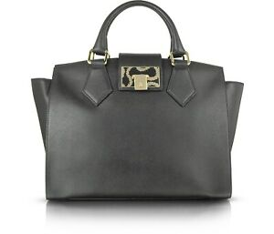 Vivienne-Westwood-Large-Black-Hand-Shoulder-Bag-NEW-with-Tags-RRP-440