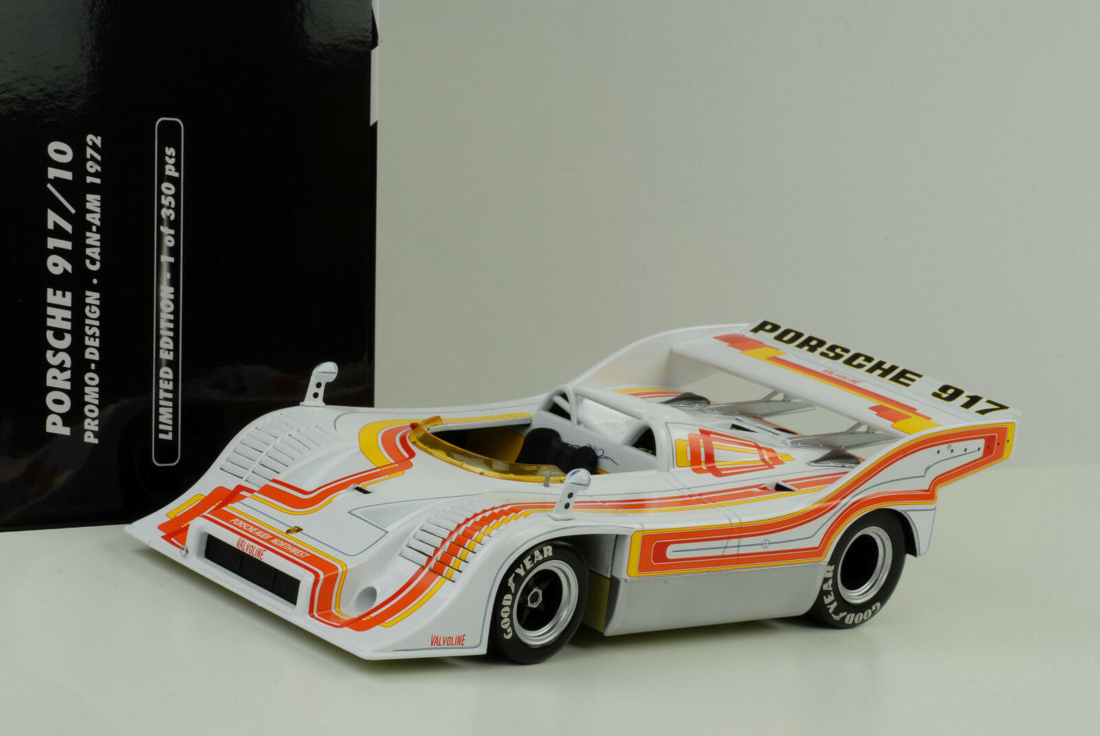 1972 Porsche 917 917 10 Can-Am Interserie Ganador Willi Kauhsen 1 18