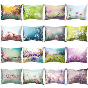 Am-JU-Fresh-Flower-Plant-Pillow-Case-Cushion-Cover-Sofa-Bed-Car-Cafe-Decoratio