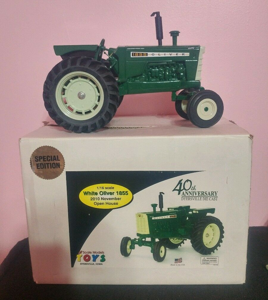 1 16 Scale Models Oliver 1855 Toy tractor 2010 open house