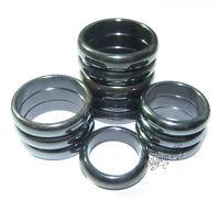 Wholesale Lots 36pcs Super Magnetic Hematite Health Jewelry Rings