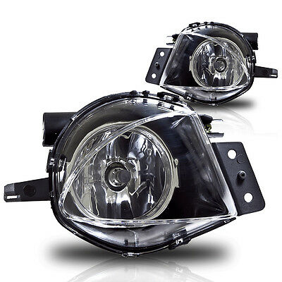 06 08 Replacement Bmw E90 3 Series Fog Lights Clear Pair