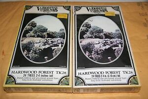 WOODLAND-SCENICS-2-PCS-28-HARDWOOD-FOREST-KIT-NEW