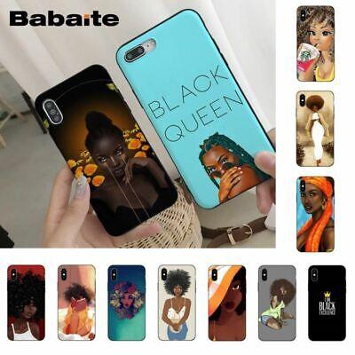 Afro Queen Phone Case Black Queen Phone Cover Melanin Poppin Afro