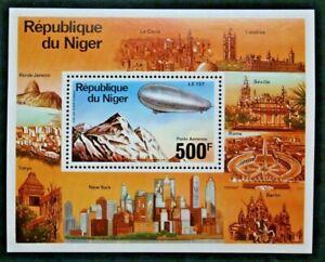 Timbre-NIGER-Yvert-et-Tellier-Bloc-n-15-n-Mnh-Z21-Stamp