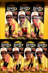 Lindy-Bill-Dance-039-s-Dancin-039-Crappie-Spin-Jigs-Choose-Color-amp-Size-One-Package
