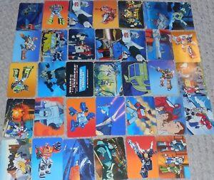 Transformers Generations One G1 Carte à Collectionner Lot De 34
