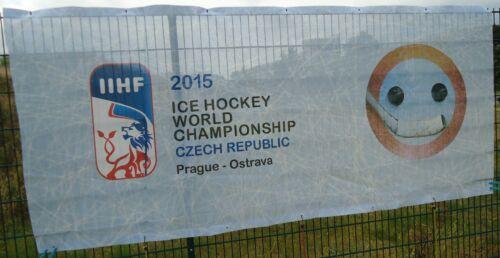 Sport Fahne Banner 2015 Ice Hockey World Championship Czech Republic Prag Ostarva #16