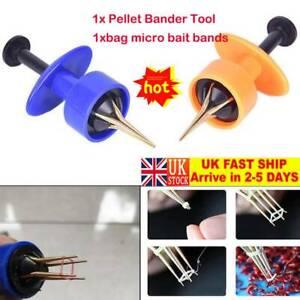 1BAG FREE Bait Bands x x Carp Fishing Tackle Pellet Bander Banding Tool