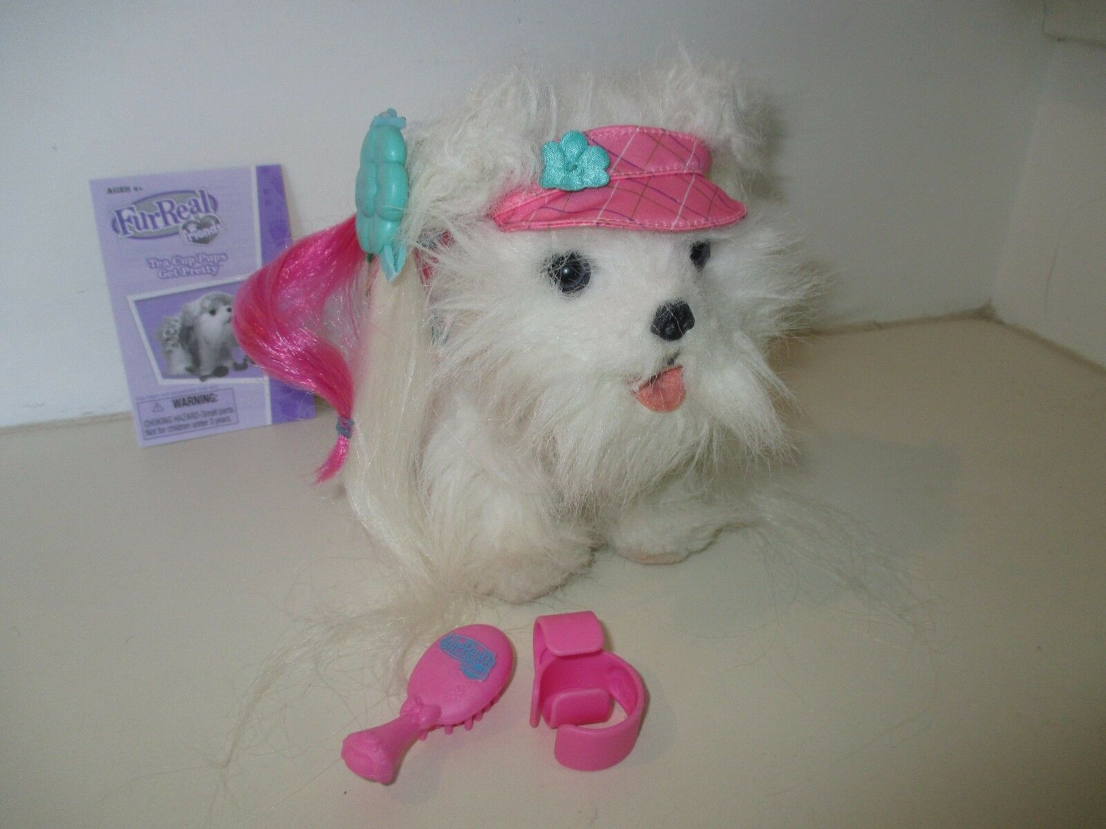 Furreal Friends Tea Cup Pups Get Pretty Maltese Complete With Instructions For Sale Online