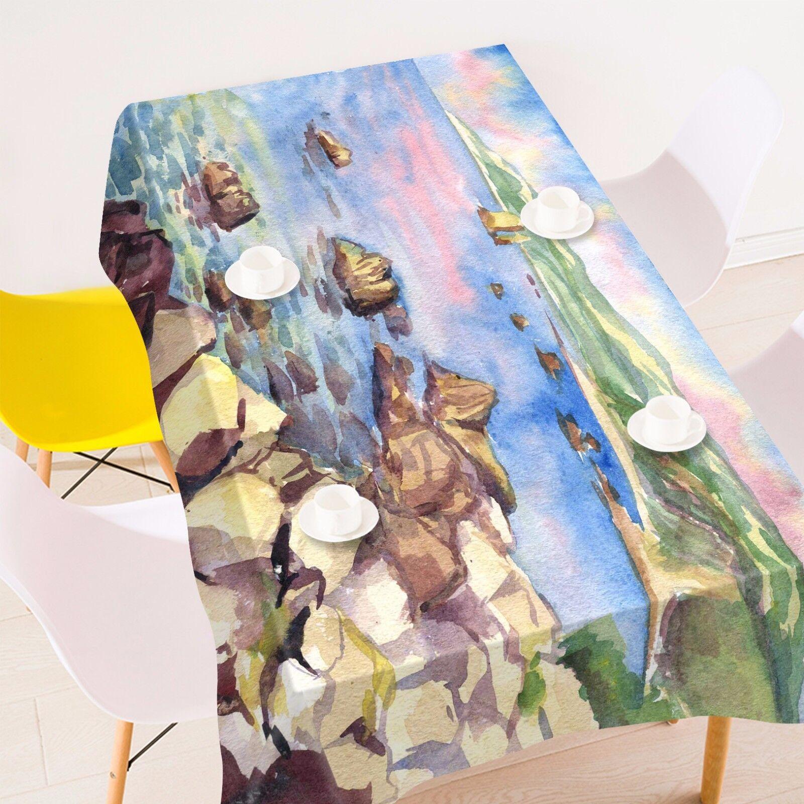 3D River sky97 Tablecloth Table Cover Cloth Birthday Birthday Birthday Party Event AJ WALLPAPER UK 0201b6