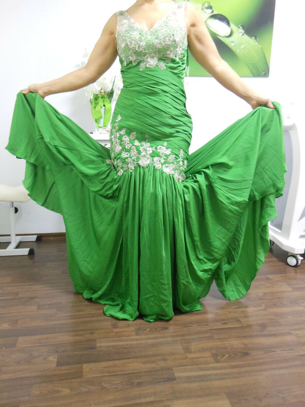Abendkleid - Ballkleid - NEU - Gr. 36 grün