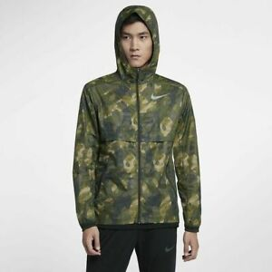 New Nike Shield Ghost Flash Running Jacket Reflective Camo ...