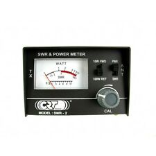 CRT MINI SWR POWER METER CB RADIO 100 WATTS MAX