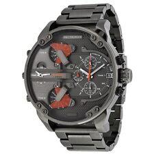 Diesel DZ7315 Mens Grey Dial Analog Quartz Watch with Stainless Steel Strap