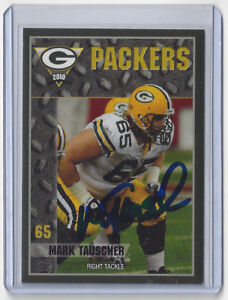 2010-PACKERS-Mark-Tauscher-signed-card-AUTO-Police-8-Autographed-Green-Bay