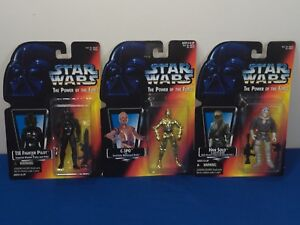 New-Star-Wars-Kenner-Power-of-the-Force-1995-Action-Figure-set-of-3-figurines