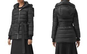 3f45f102e Burberry Limehouse Down Wimen's Puffer Coat Black XSmall NWT MSRP ...