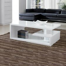 587bcd4f15703 Elegance Designer Square Coffee Table White High Gloss Finish!!Free  Delivery!