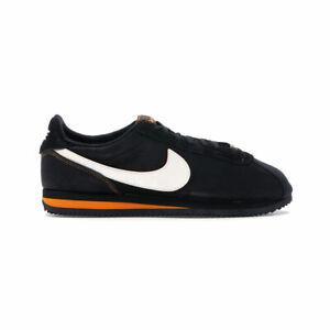 Nike-Men-039-s-Cortez-Day-of-the-Dead-RUNNING-SHOES-BLACK-ORANGE