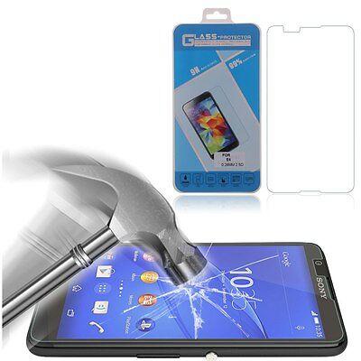 Vitre protection Film protecteur d'écran en verre trempé Sony Xperia E4 Z3 Z4 M4