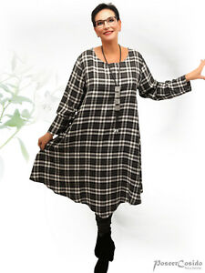 PoCo-DeSiGn-LAGENLOOK-Tunika-Long-Shirt-Kleid-L-XL-XXL-XXXL-44-46-48-50-52-54-56