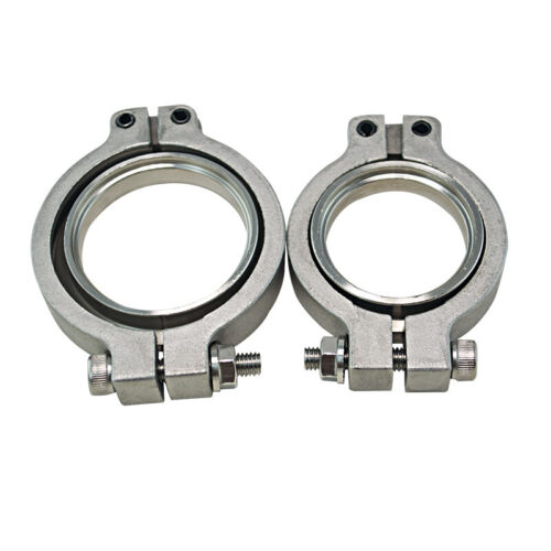 band Universal 304 Stainless V band Flang//Clamp Set For MVR 44mm WASTEGATE V