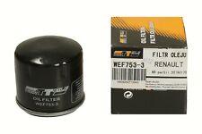 Ölfilter WEF753-3 WERTTEILE DACIA NISSAN RENAULT