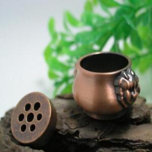 Mini-7-Holes-Lions-Incense-Burner-Holder-for-Incense-Stick-Cones-SS3