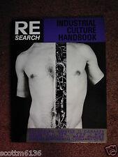 RE/SEARCH 6/7: INDUSTRIAL CULTURE HANDBOOK- Boyd Rice/NON*THROBIING GRISTLE*SPK