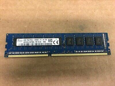 HYNIX HMT451U7BFR8A-PB 4GB 1Rx8 PC3L-12800E 1600MHz ECC UNB DIMM MEMORY RAM