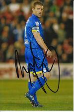 Leeds United Firmada A Mano Richard Secretario General de 6x4 Foto 1.