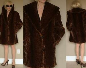 4cd1b6598 Image is loading VTG-TISSAVEL-France-NORDSTROM-SAVVY-ILGWU-LEOPARD-FAUX-