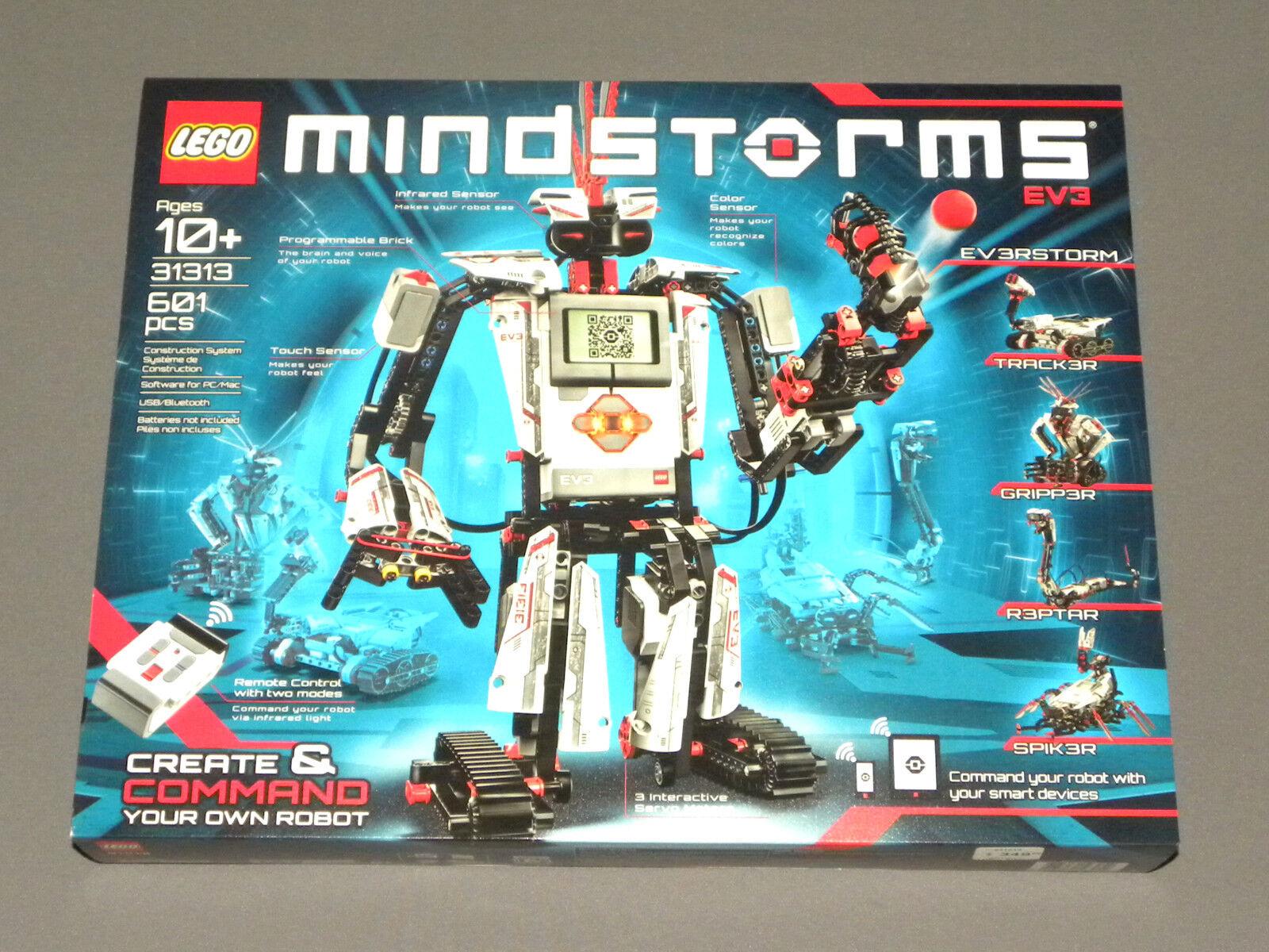 LEGO Mindstorms EV3 Robotics Construction System 31313 Robot Set Set Set w blueetooth NEW ddb862