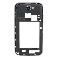 Para Samsung Galaxy Note 2 II N7100 Trasero Marco CARCASA Cubierta De Negro
