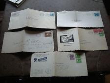 ETATS-UNIS - 5 devants d enveloppes 1934 (cy23) united states
