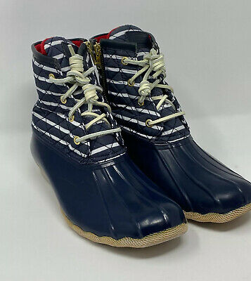 Sperry Top Sider Saltwater Navy Quilted