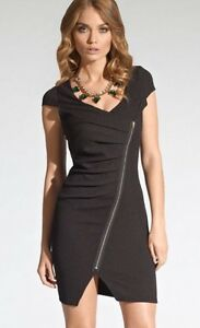 New-Lipsy-LBD-Fitted-Zip-Wiggle-Evening-Wedding-Cocktail-Party-Dress-UK-8