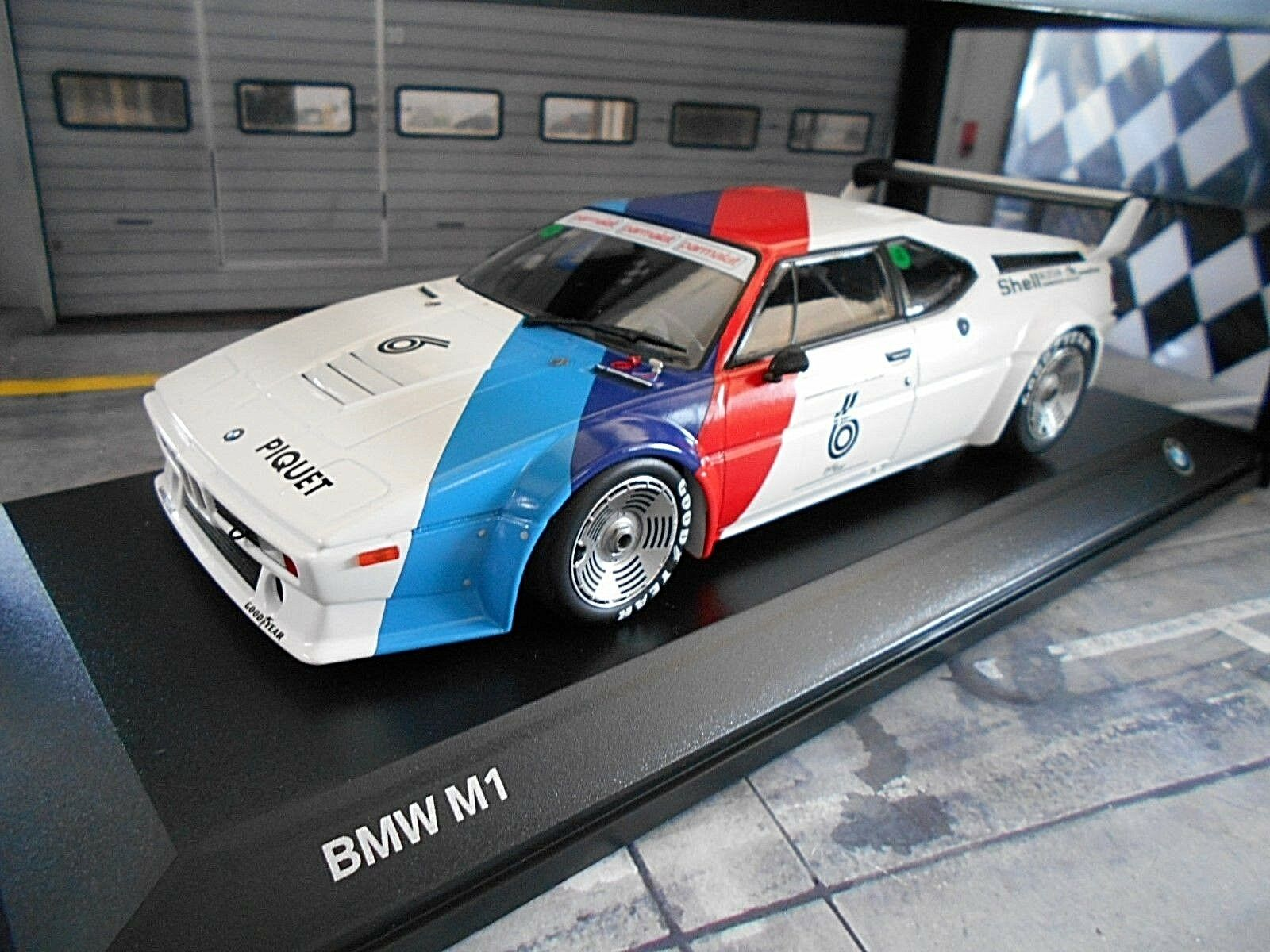 Bmw m1 PROCAR SERIES RACING 1979  6 Piquet M miniature MINICHAMPS Heritage 1 18
