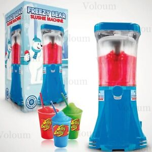 Slush Puppie Machine Freezy Bear Slushie Frozen Ice Drink Maker Jelly Belly Syrup by Ebay Seller