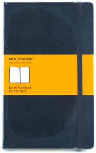 Moleskine-Ruled-Notebook-Black-Hard-Cover-Large-13x21cm-5x8-1-4-034-Acid-Free