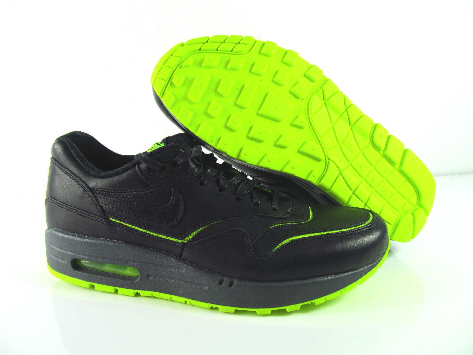 Nike Air Max 1 cut out PRM Negro voltios cuero 40 cortos Zapatos  eur_32018 40 cuero 41 dd3999
