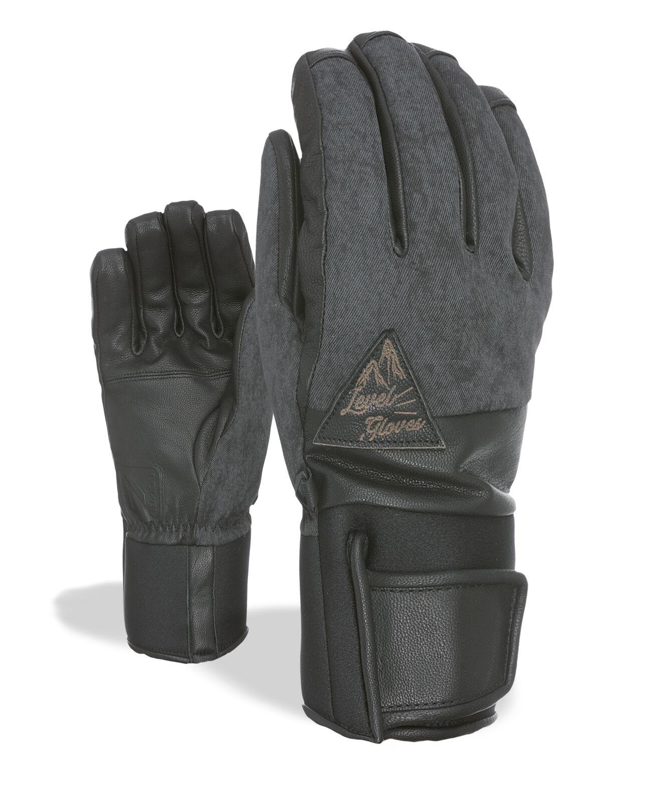 Level Handschuh Rover grey wasserdicht atmungsaktiv wärmend meliert