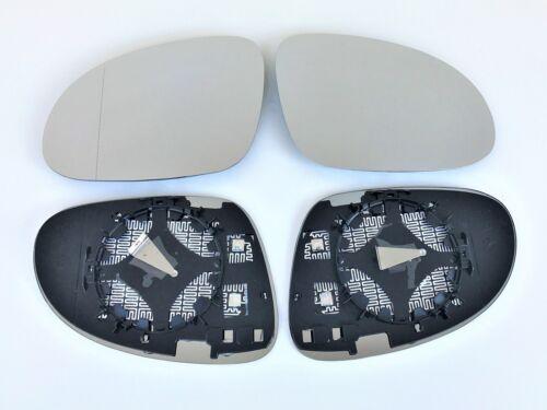 MIROIR glace polie Set Droite Gauche pour VW Jetta lll Type 1k2 Année De Fabrication à partir de 2005