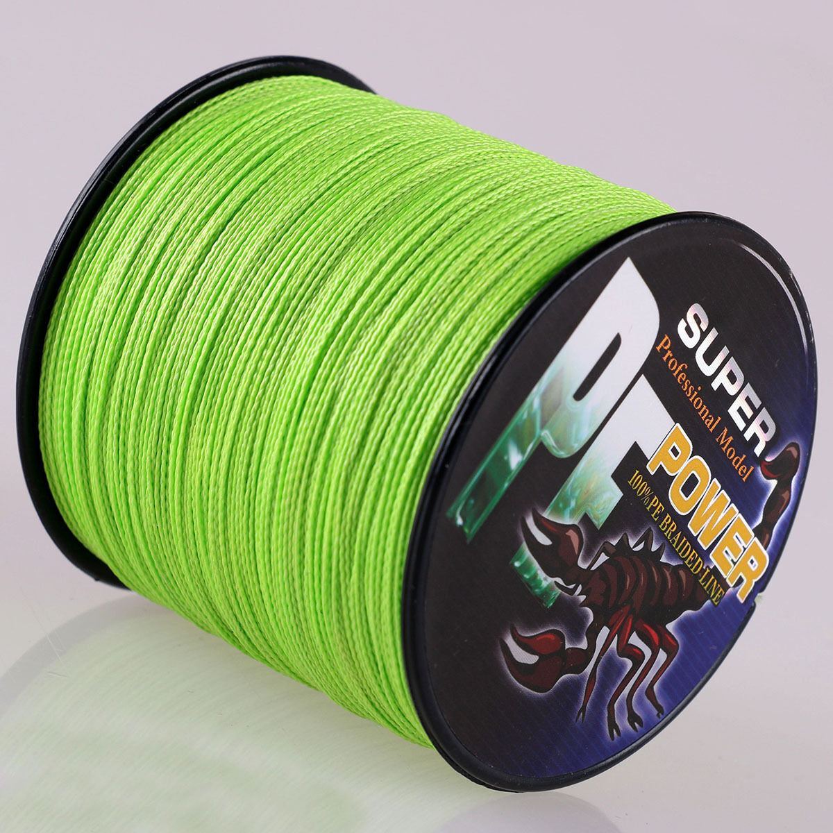 16 Strands 100M-2000M 20LB-300LB Fluorescent Green Hollow Braided Fishing  Line  online-shop