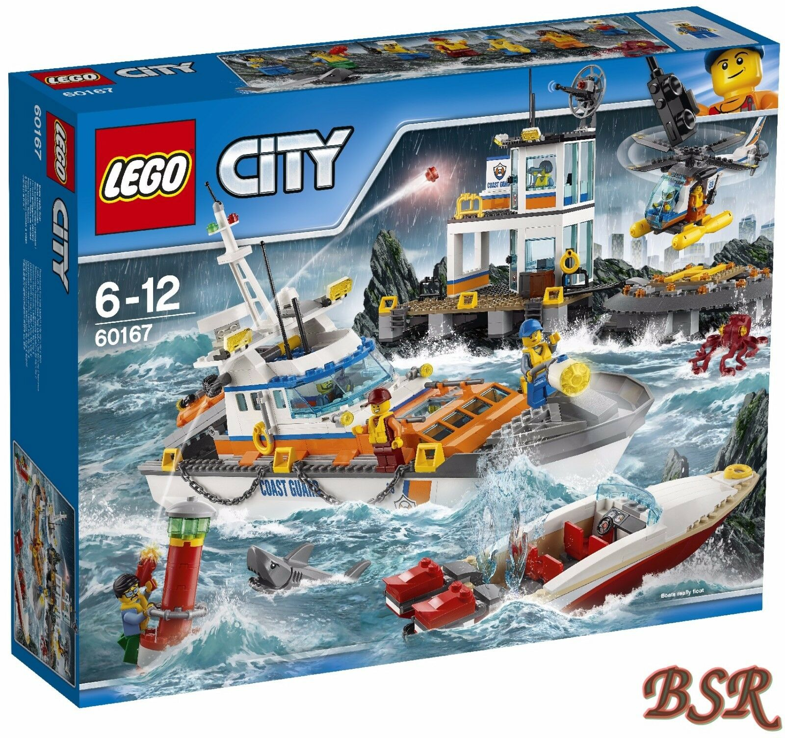 LEGO ® City  60167 küstenwachzentrum & 0.  - expédition & NOUVEAU & NEUF dans sa boîte  les derniers modèles