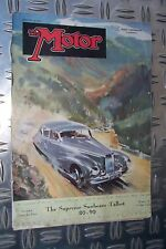 THE MOTOR antik magazine January 19 1949 Sunbeam Talbot Austin engine Longbridge